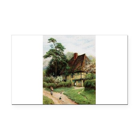 cottage1.png Rectangle Car Magnet