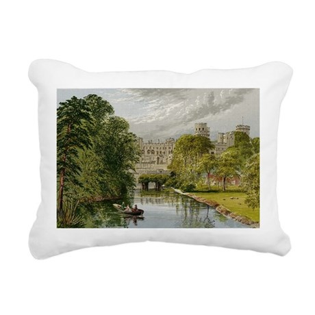 warwickcastle.jpg Rectangular Canvas Pillow