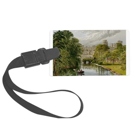 warwickcastle.jpg Large Luggage Tag
