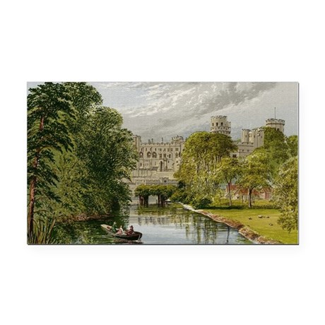 warwickcastle.jpg Rectangle Car Magnet