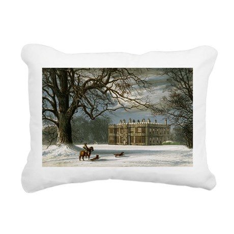 howshamhall.png Rectangular Canvas Pillow