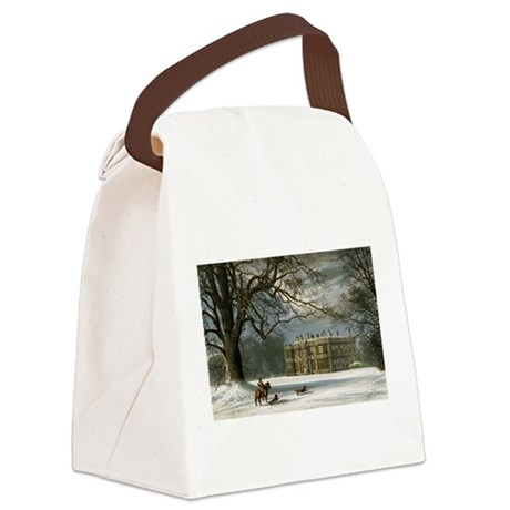 howshamhall.png Canvas Lunch Bag