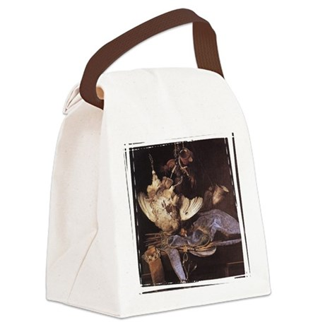 huntingequip3.png Canvas Lunch Bag