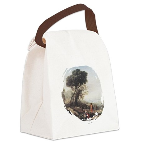 claudeLorrain3.png Canvas Lunch Bag