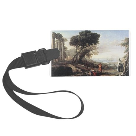 claudeLorrain3.png Large Luggage Tag