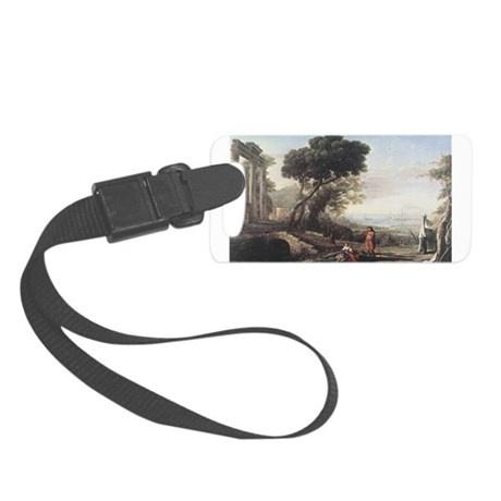 claudeLorrain3.png Small Luggage Tag