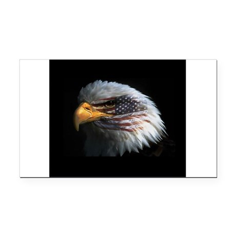 eagle3d.png Rectangle Car Magnet
