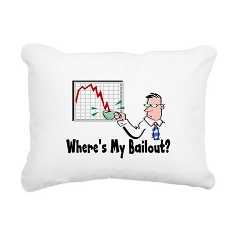 2-bailout3.png Rectangular Canvas Pillow