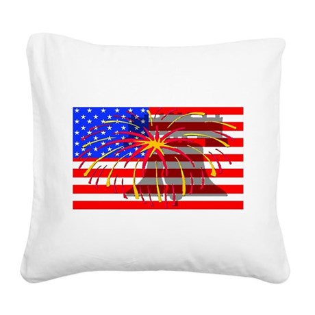 lb1a.png Square Canvas Pillow