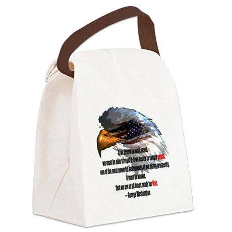 war2.png Canvas Lunch Bag