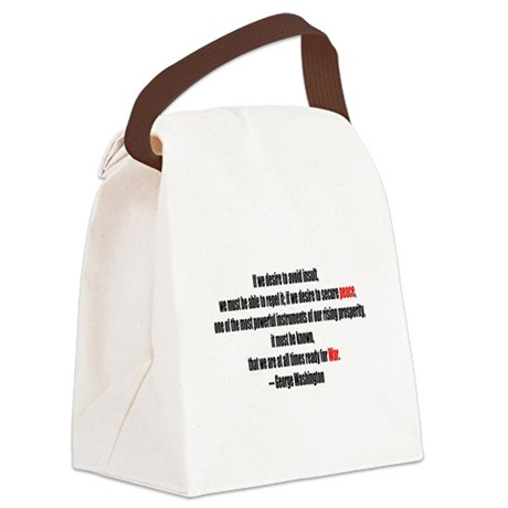 war1.png Canvas Lunch Bag