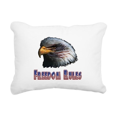 eagle3c.png Rectangular Canvas Pillow