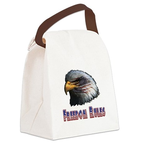 eagle3c.png Canvas Lunch Bag