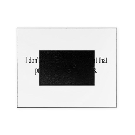 Government Protection Picture Frame