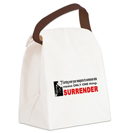 gun4d.png Canvas Lunch Bag