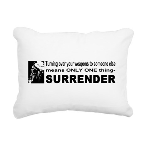 gun4b.png Rectangular Canvas Pillow