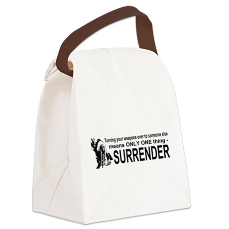 gun3.png Canvas Lunch Bag