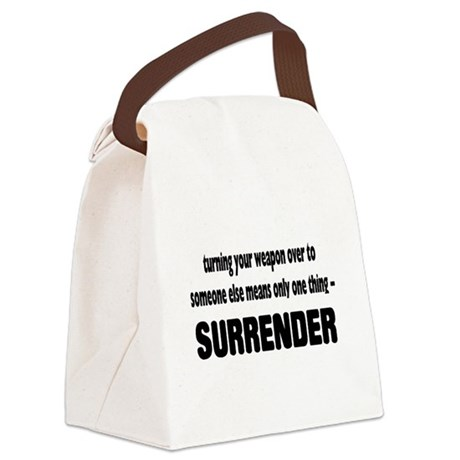 guns2.png Canvas Lunch Bag