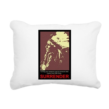 gun5.jpg Rectangular Canvas Pillow