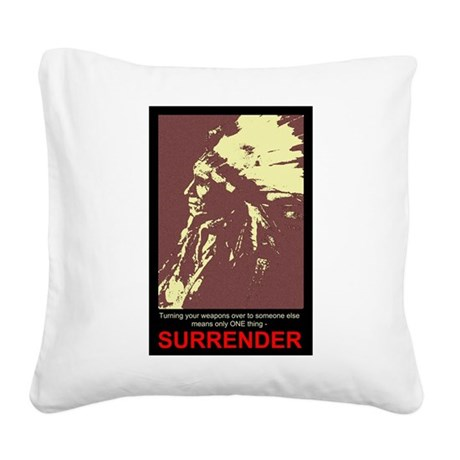 gun5.jpg Square Canvas Pillow