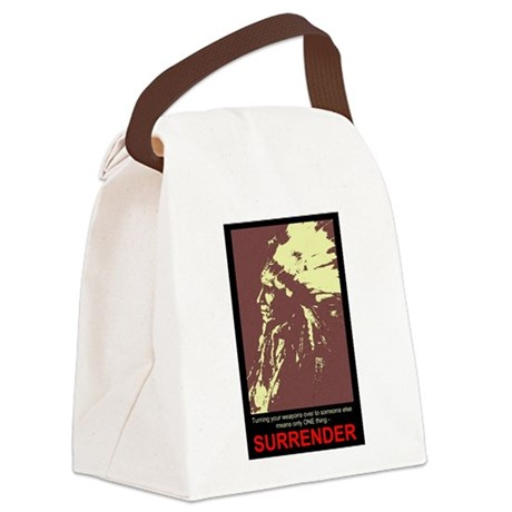 gun5.jpg Canvas Lunch Bag