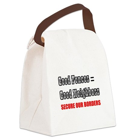 borders1a.png Canvas Lunch Bag