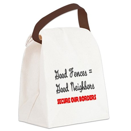 borders3.png Canvas Lunch Bag