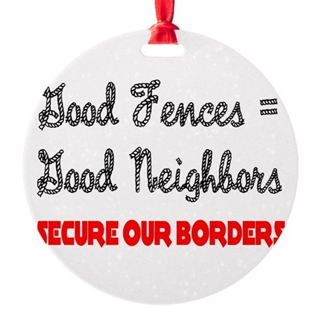 borders3.png Round Ornament