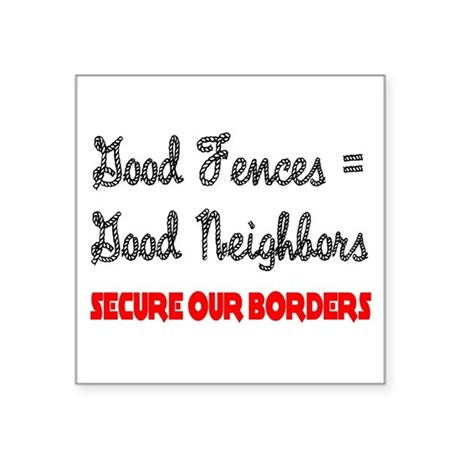 "borders3.png Square Sticker 3"" x 3"""