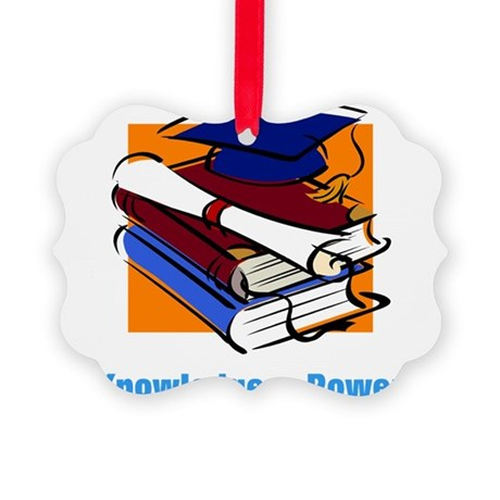 knowledge.png Picture Ornament