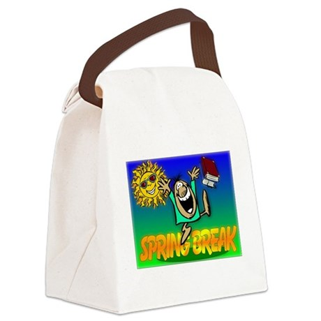 springbreak.png Canvas Lunch Bag