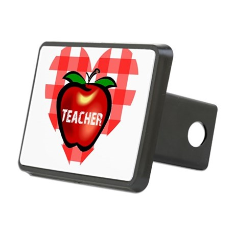 teacherapple.png Rectangular Hitch Cover