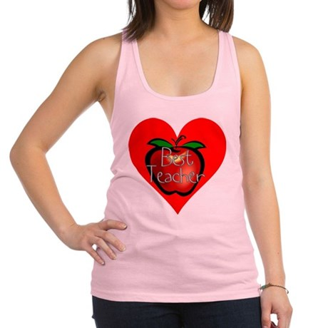 teacherapple2c.png Racerback Tank Top