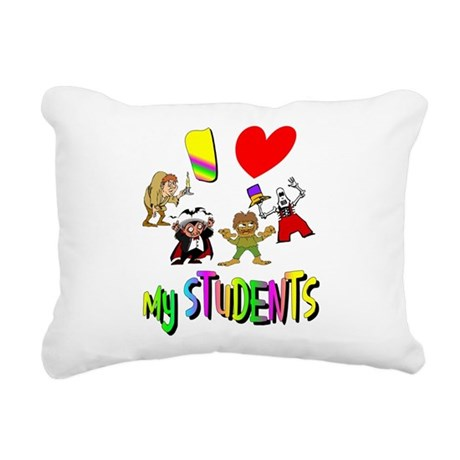 students3.png Rectangular Canvas Pillow