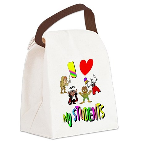 students3.png Canvas Lunch Bag