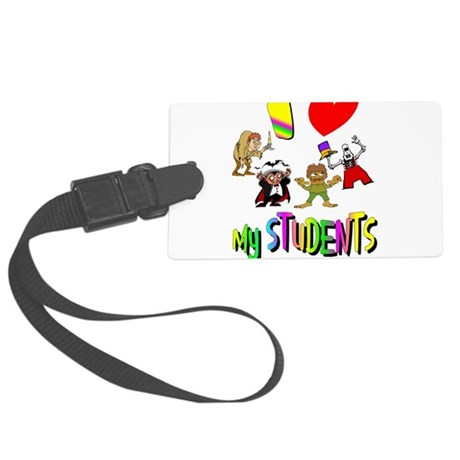 students3.png Large Luggage Tag