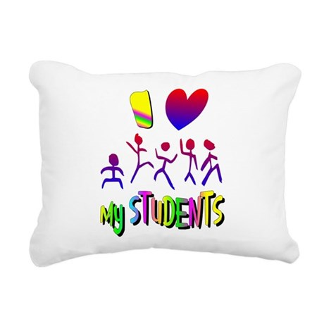 students2a.png Rectangular Canvas Pillow