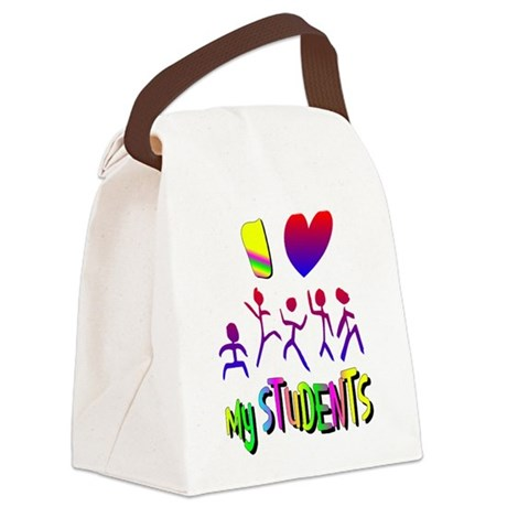 students2a.png Canvas Lunch Bag