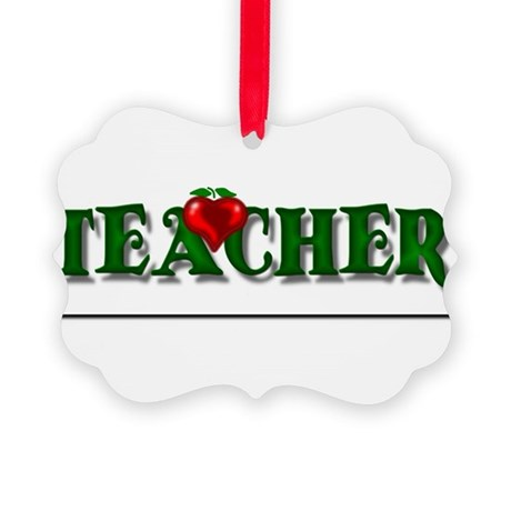 teacher1.png Picture Ornament