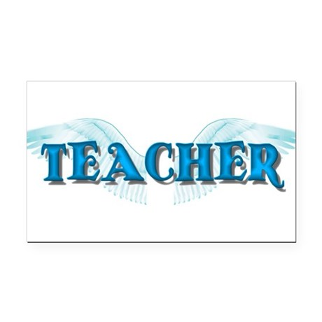 teacher2b.png Rectangle Car Magnet