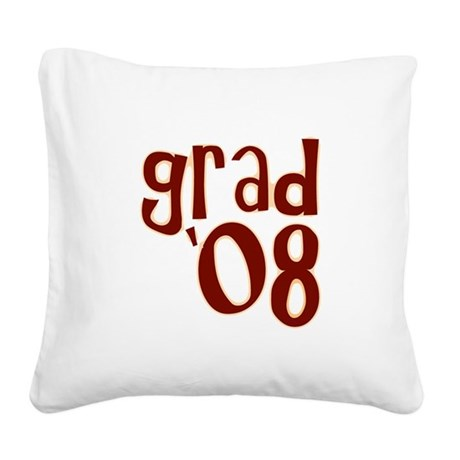 08i.png Square Canvas Pillow