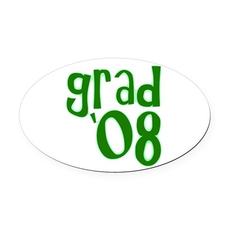 08g.png Oval Car Magnet