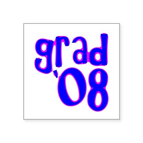 08c.png Square Sticker 3&quot; x 3&quot;