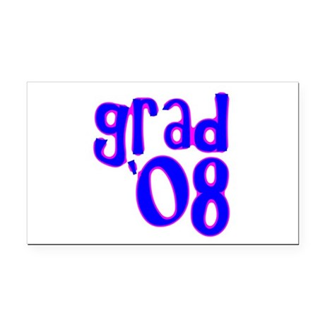 08c.png Rectangle Car Magnet
