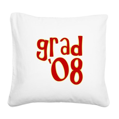 08b.png Square Canvas Pillow