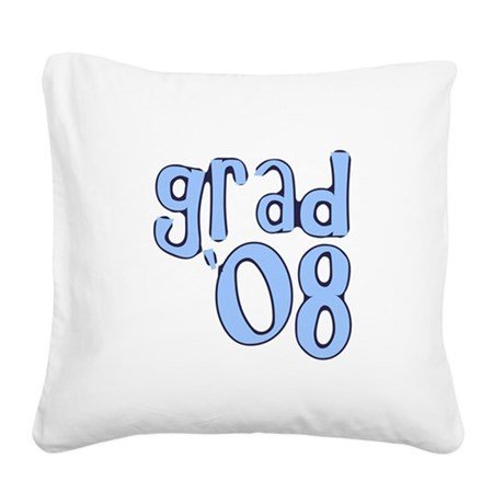 08a.png Square Canvas Pillow