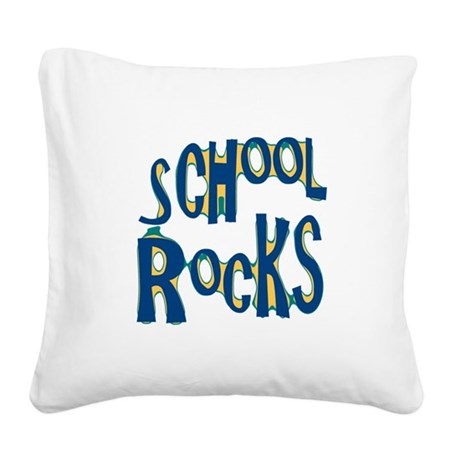 rocks.png Square Canvas Pillow