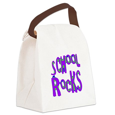 rocks2c.png Canvas Lunch Bag
