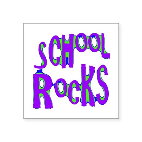 "rocks2c.png Square Sticker 3"" x 3"""