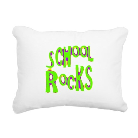 rocks2a.png Rectangular Canvas Pillow